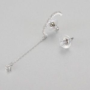 Swarovski Vittore Pierced Earrings, White